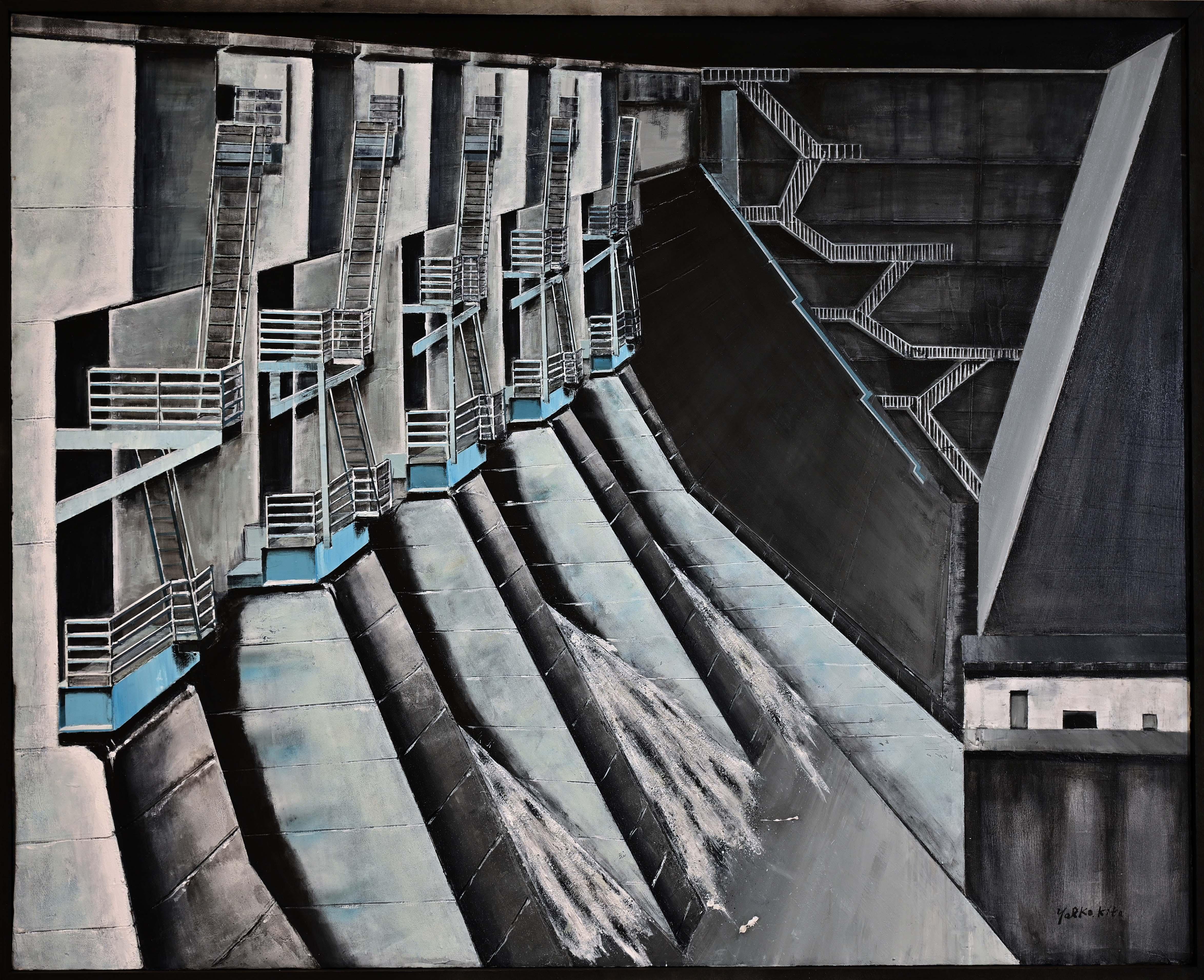北 八重子:DAM 貯水ダム-開放